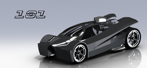 SolidWorks Rendering for Derby Competition by TekuConcept