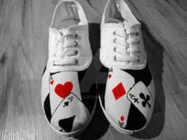Handpainted shoes by keopsa
