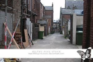 Stock - Back Alley by FilthyPinkStock