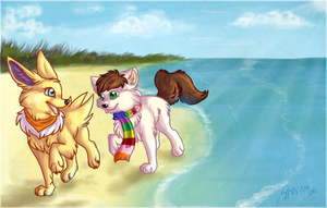 Beach day by Aniritak