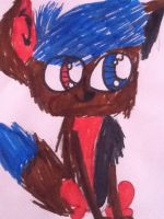 Littlest pet shop OC: Andrew drake Blooden by AwesomeTed592