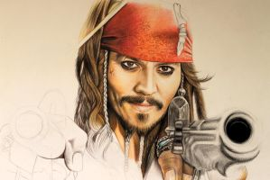 Jack Sparrow Progress (part 2) by Natalisa234