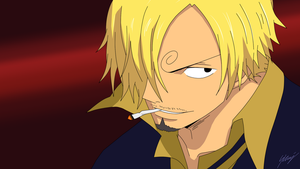 One Piece - Sanji by skajcere