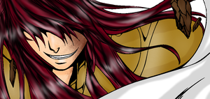 Saint Seiya Lost Canvas OC- Capricorn  Aegidius by DarkLordLuzifer