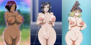 Bleach Yugioh Crossover Boob Collection 3 by Mr123GOKU123