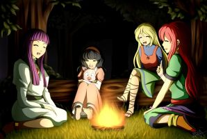 Gaia Girls by Yet-One-More-Idiot
