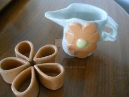 Pitcher and Cup Set by Feffafee