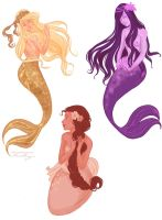 andells' mermaids by viria13