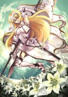 Jeanne d'Arc by RococoRoses