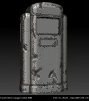Eat3d Old and Damaged - Wip 02 by AutopsySoldier