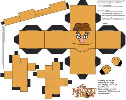 Muppets 2: Fozzie Cubee by TheFlyingDachshund