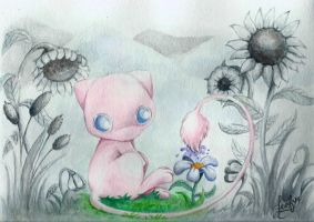 Mew's Gift: Coloring Life by Leafye