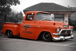 1957 GMC Pick-up by FurLined