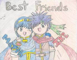 Marth and Ike by Jenime39