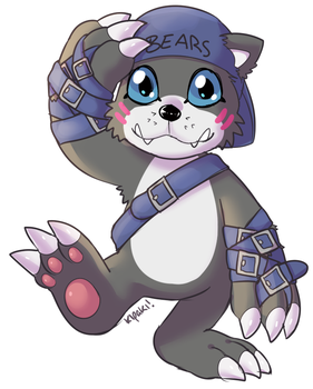 Bearmon by Kipaki