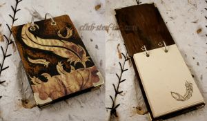 Feather Notepad by SpankTB
