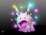 Goomy and sparks by Memo078