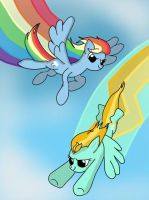 Rainbow Dash-ing Awesome. by Zilford-the-legend