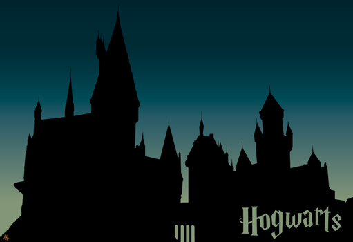 Hogwarts Castle by evisel