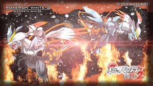 pokemon white 2 - Kyurem White by DecadeofSmackdownV3