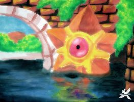 Staryu - Painting by Maham789