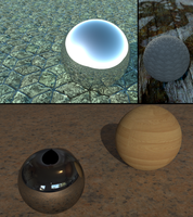 Several Spheres by pyrohmstr