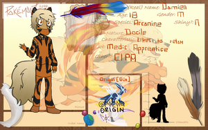 .:Pokemontribal application:. Damian UPDATE by AgenderedKing
