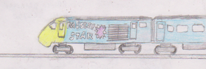 Mesley Star the class 43 by WhippetWild