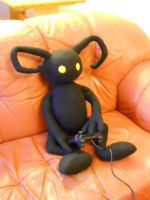Heartless plushie wants play by HedaMiu