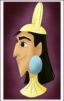 Emperor Kuzco by CartoonJessie
