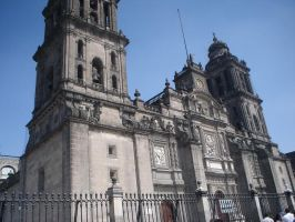 Catedral - Cd. de Mexico Mx by patycosplay