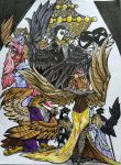 Feathers of the Opera:Final by InkmanStudios