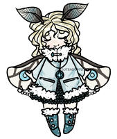 04.07.15 { Moth Girl Adopt CLOSED } by QuteAdopts