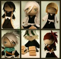 Bleach Bishonen by pheleon