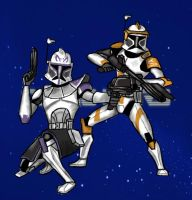 Clone Wars by DCall220