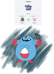 Pokefusion: Tentasey by HarpieQueen