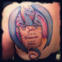Jen's Dragon by Tattoo-Nouveau