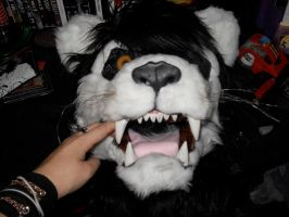 Verve the White Lion mask4 by Silent-Outbreak