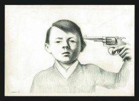 Little Adolf Hitler by volkano-art
