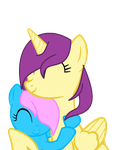 ::REQUEST:: Rainbow4 Hug Sweet by IcyPonyArtist