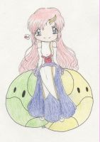 Lacus and Haro by Horu-chan