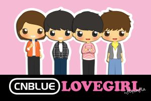 CNBlue - LOVE GIRL by flyinfLa