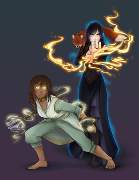 Maana and Shae by riku-gurl
