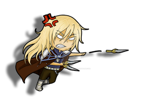 Gift - Chibi C.O. for Chesis-Griffith by LadySlyOfCastelmore
