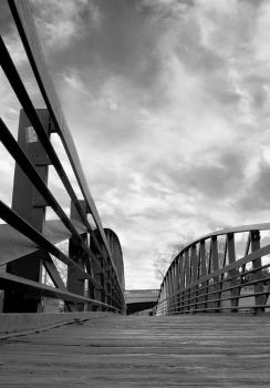 The Bridge Background Stock Photo Low Angle by annamae22