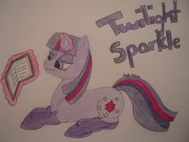 Twilight Sparkle with socks by NightMareBabe14