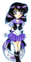 Sailor Silence -chibi- by nephrite-butterfly