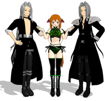 Sephiroth Same?? by KingdomHeartsNickey