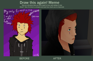 Before and After Meme by Cally-wally