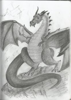 Dragon by Nyroxs